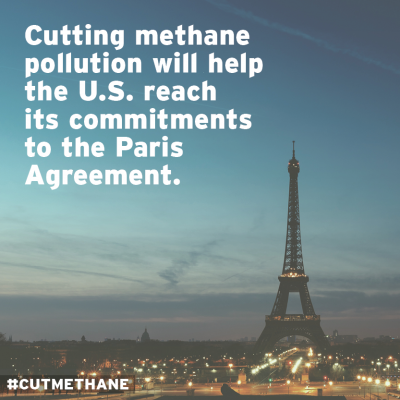 Earth Day Signing Methane